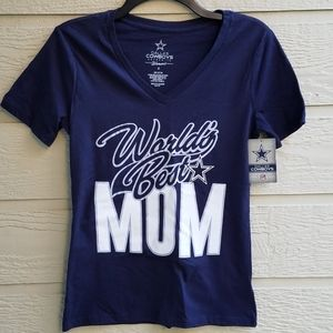 NWT Dallas Cowboys World's Best Mom shirt size S